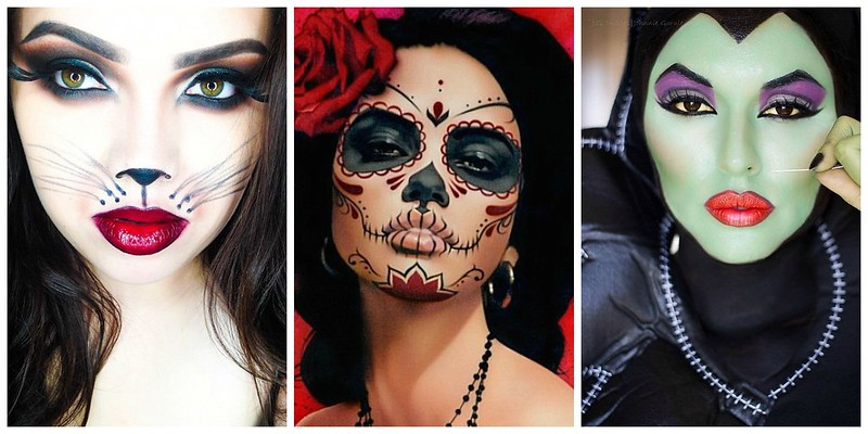 cute & little blog | halloween face paint makeup idea