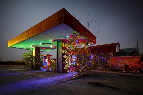 RGB Gas Station