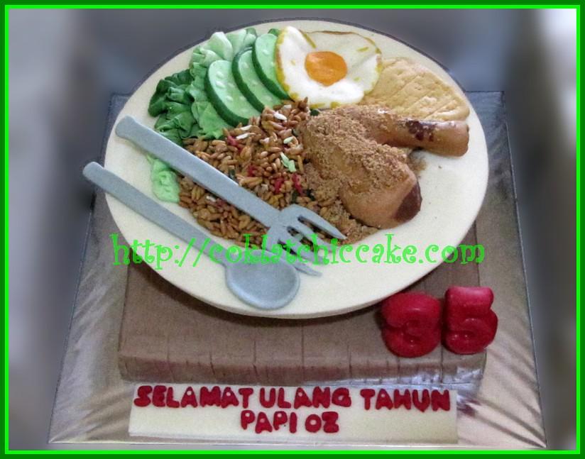 Cake Nasi Goreng