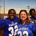 Airport Varsity Football Senior Night FB, Band, Cheer 10-23-15