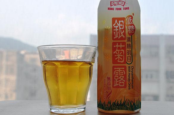 銀菊露 - 香港で漢方飲料を飲み比べ