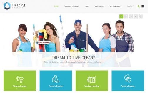 JoomlaMonster JM Cleaning Company v1.01 – Template For Joomla