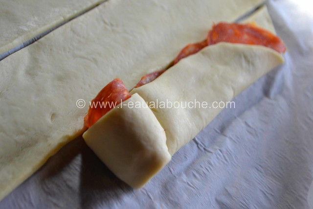 Rose au Chorizo et au Cheddar © Ana Luthi Tous droits réservés 07