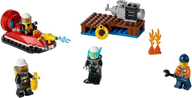 LEGO City 2016: 60106 - Fire Starter Set