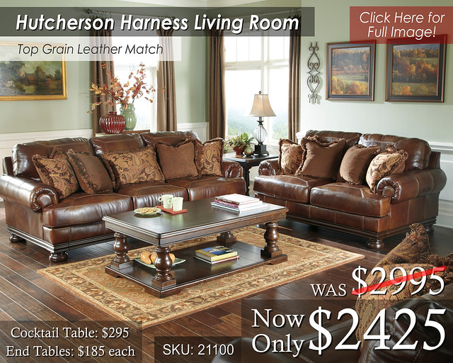 Hutcherson Harness Living Set