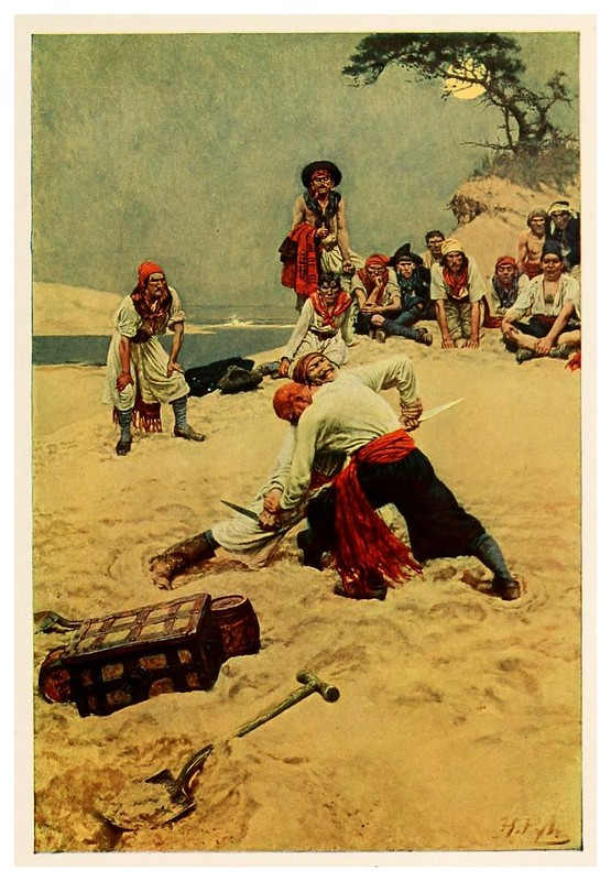 006-Peleando por el liderazgo- Howard Pyle's book of pirates..1921