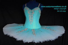 AQUA airbrushed tutu