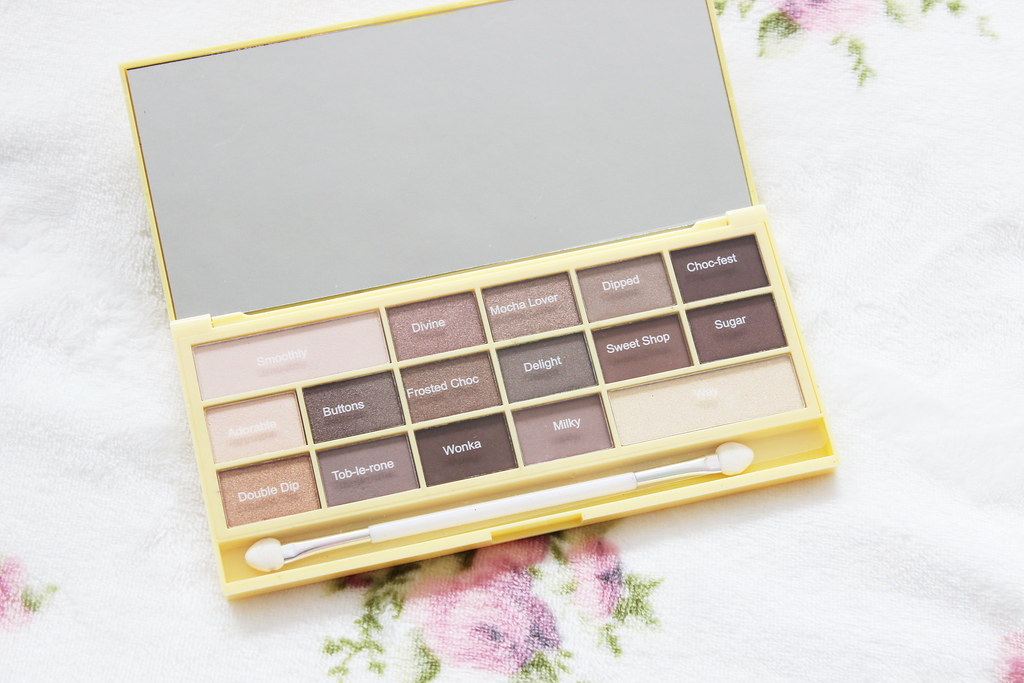 Makeup Revolution Naked Chocolate Palette (2)