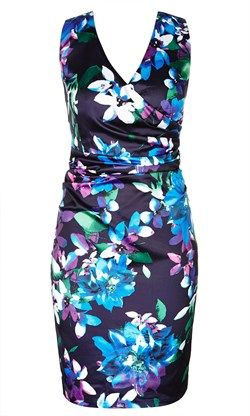 daytime summer glamour bold floral print at Crossroads $64.95