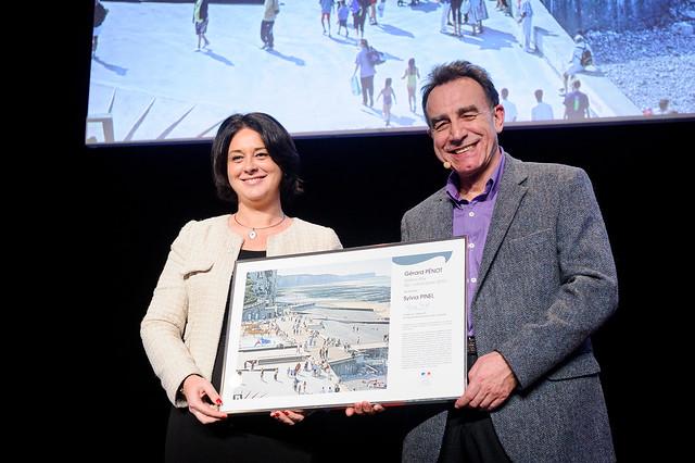 Cérémonie de remise du Grand Prix de l'Urbanisme 2015