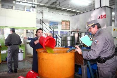 """Rutigliano-7mila tonnellate di olio """"falso""""-Interna_olio"""
