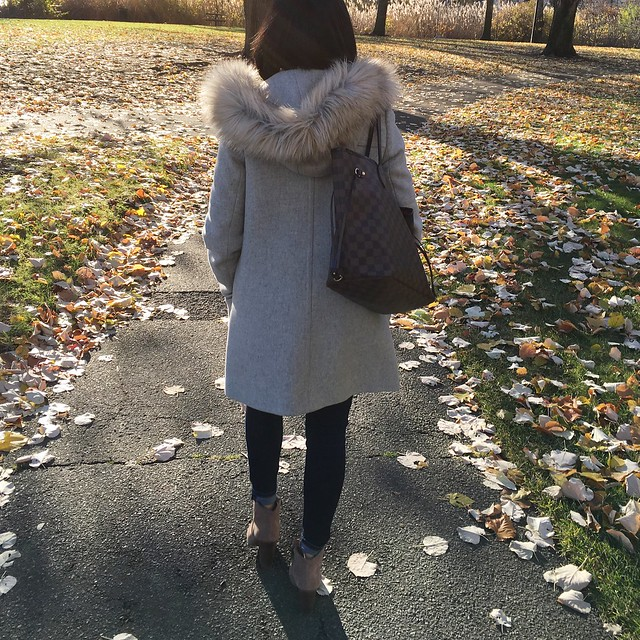 J.Crew Chateau Parka (back view)