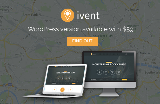iVent - Multipurpose Event WordPress theme