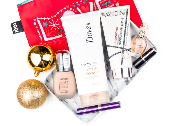 Blogger Adventskalender, Gala Beauty Box Dezember 2015