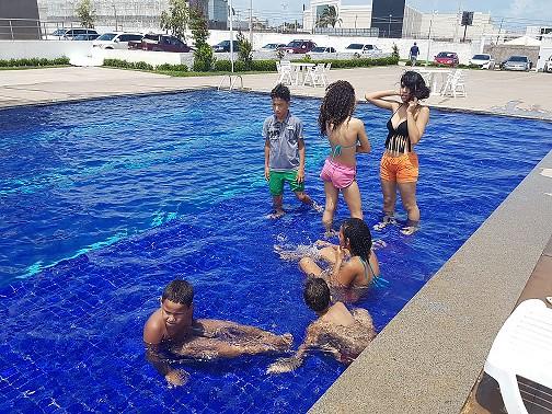 Dia de Férias agita a criançada com muita diversão na sede social da AMMA