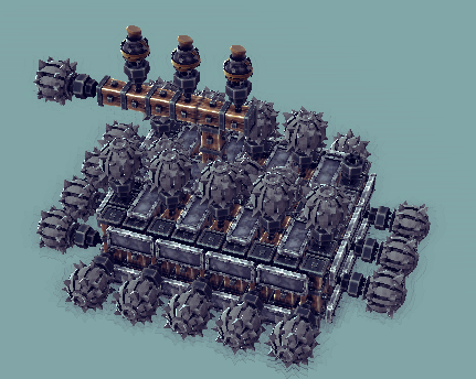 besiege-bom-car