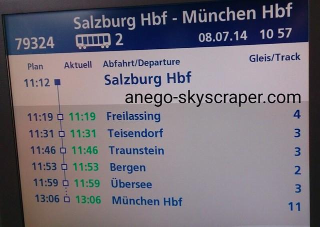 ミュンヘンへ