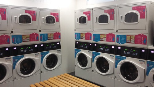 Laundry room machines