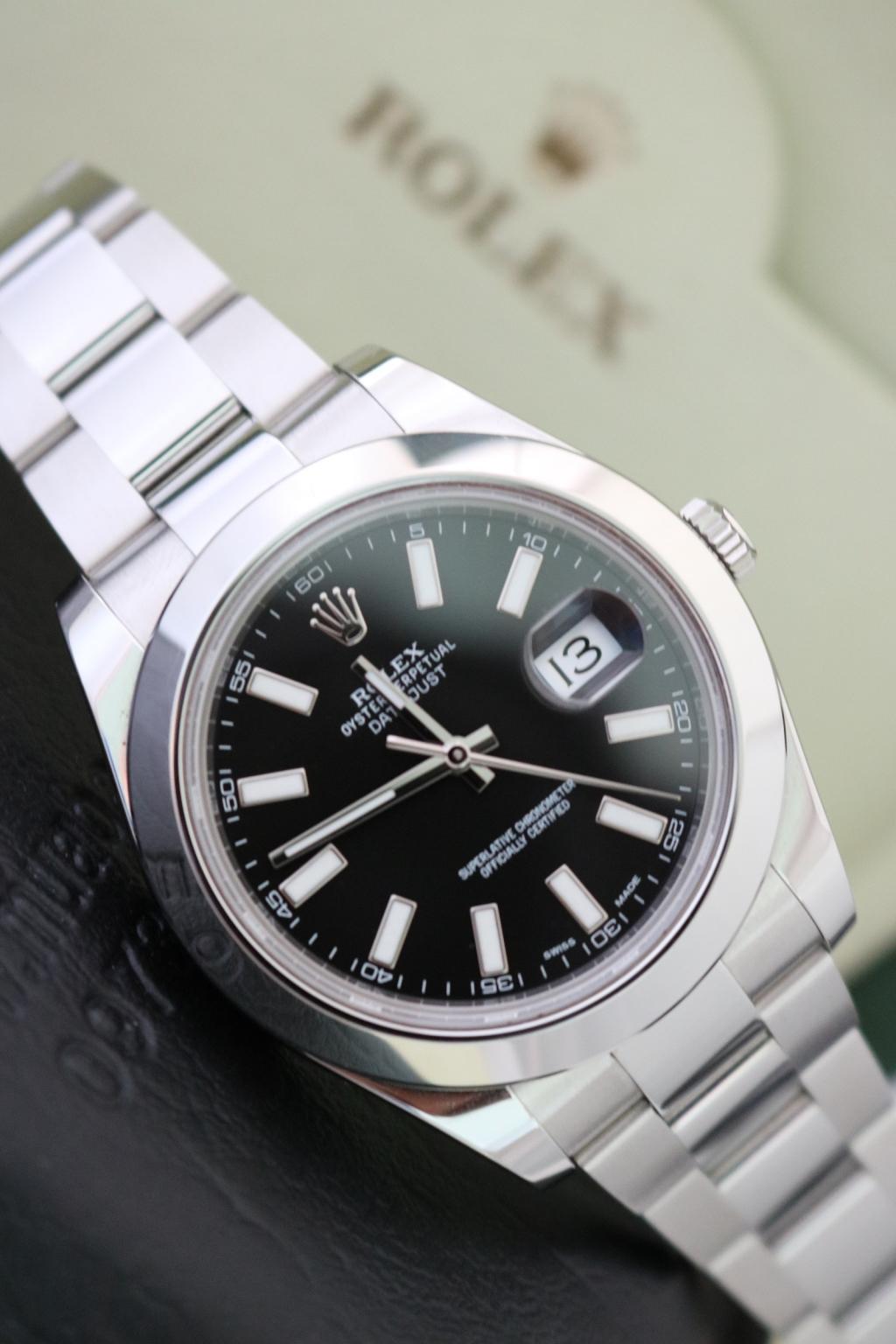 Đồng hồ rolex datejust 6 số Nam 116300 – Inox – Size 41mm – Đầy đủ giấy tờ