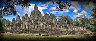 Image of Angkor Wat near Siem Reap. angkorthom ankorarchaeologicalpark bayontemple cambodia exteriors holidays mangojouneys panoramas topazlabs