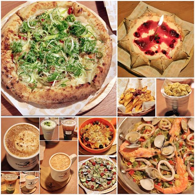 『台中南屯區』 堤諾比薩TINO'S PIZZA(台中大墩店)-在台中遇見 新奇好味 創意義式比薩、咖啡與小酒館的完美結合。