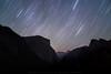 Star Trails over El Capitan and Half Dome by Pichaya V. (Zolashine)