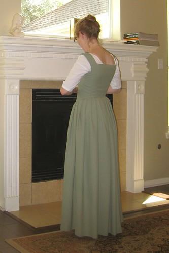 Early 17th Century Petticoat - Side