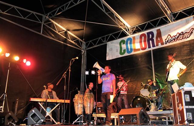 Optreden Pas Mal+ (Congo) @ Colorafestival Leuven (22/08/2015)