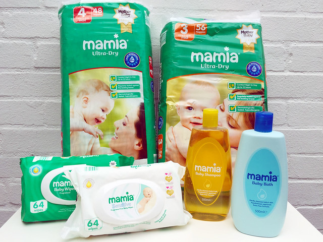 nappies, wipes and toiletries