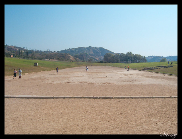 Grecia Olimpia Delfos - Estadio de Olimpia