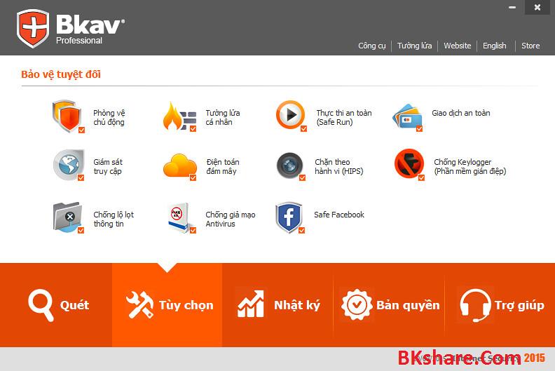 Download phần mềm BKAV PRO 2015 full bản quyền