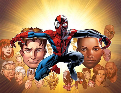 Ultimate Spider-man comics 1