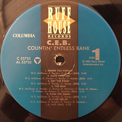 C.E.B.:COUNTIN' ENDLESS BANK(LABEL SIDE-A)