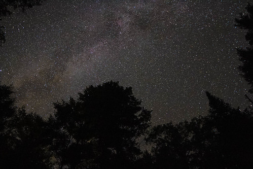 night way photography adirondacks milky