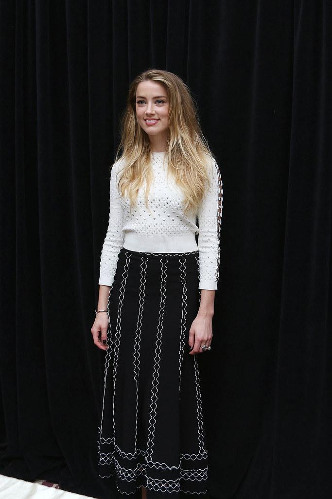 Эмбер Хёрд — Пресс-конференция «Девушка из Дании» на «TIFF» 2015 – 46