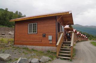 086 Onze cabin met Arjan