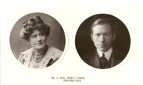 Ellen Terry and James Carew