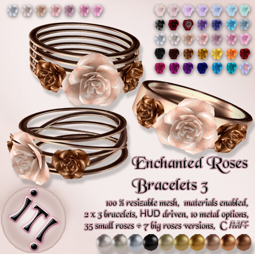 !IT! - Enchanted Roses Bracelets 3 Image