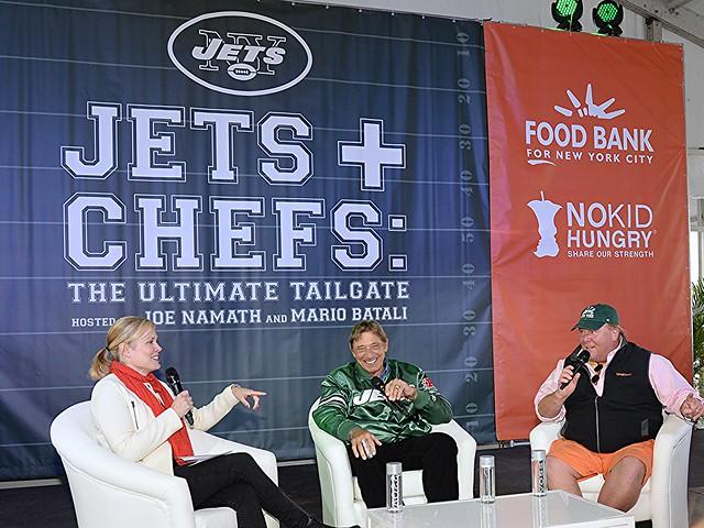 NYCWFF: Joe Namath and Mario Batali