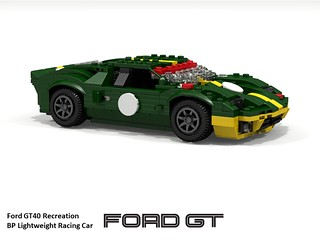 Ford GT40 (Reproduction) BP Racing Colours