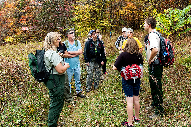Hoosier National Forest - Lick Creek Trail - Sierra Club Hike - Oct. 24, 2015