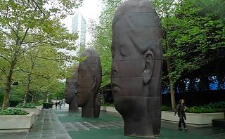 Chicago - Millenium Park Boeing Gallery South