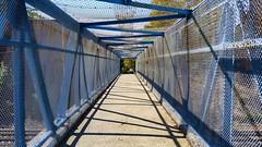 Pedestrian Bridge Over The LIRR