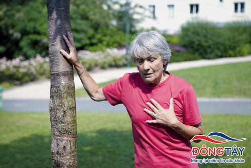 Tim đập không đều, hơi thở ngắn có thể là triệu chứng quá liều thuốc atenolol