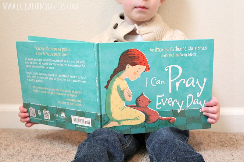 Great tips on how to teach your child to pray. It might seem like a daunting task, but these tips will definitely help! It's never too early to start! And I love the book she includes!