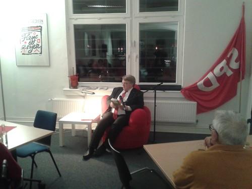 Der rote Sessel im November 2015