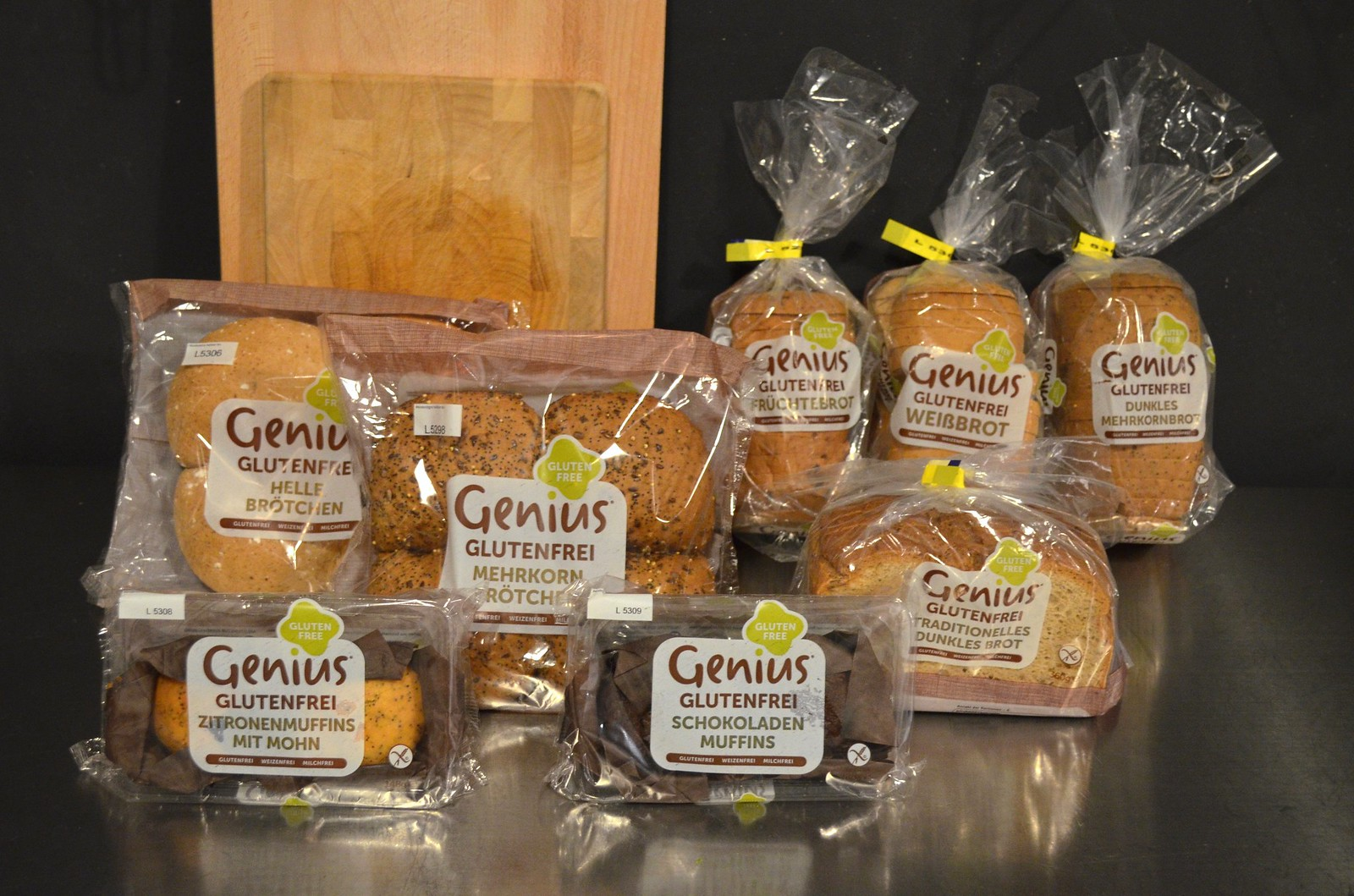 Genius Gluten Free German bread assortment review