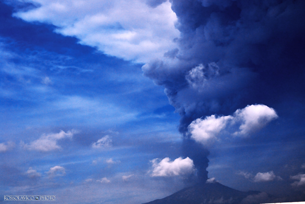 Hyperactivity in the Etna / CT / Sicilia.