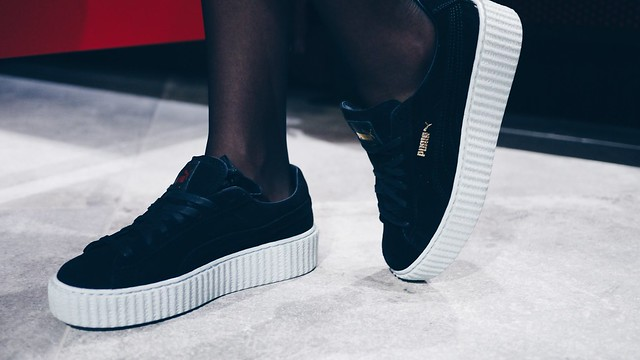 Puma Rihanna The Creeper Puma Store Mitte Launch Event