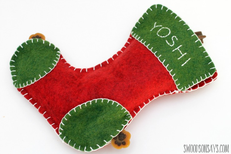 What to sew for dogs as a Christmas present!